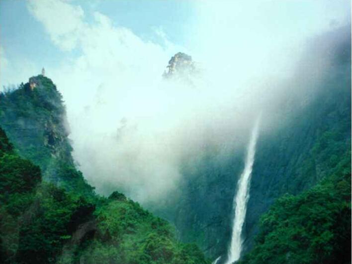 庐山瀑布一日游 庐山旅游 纯玩无购物